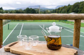 tea and tennis